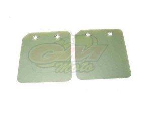 Coppia lamelle fiberglass sp 0,25mm Minimoto Motore Polini BZM- Ricambi e Accessori Minimoto