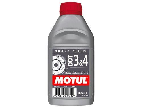 102718 Olio Freni Motul Brake Fluid Dot 3 & 4 conf. 500 ml- Ricambi e Accessori Moto