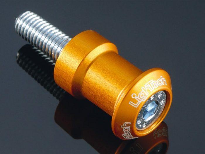 Nottolini Lightech Alluminio Oro filetto M 8 x 1.25- Ricambi e Accessori Moto