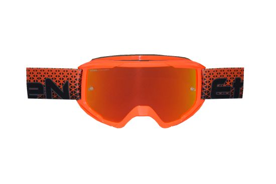Maschera Cross ETHEN OTG06 Middle Orange Printed- Abbigliamento e Accessori Moto Motocross