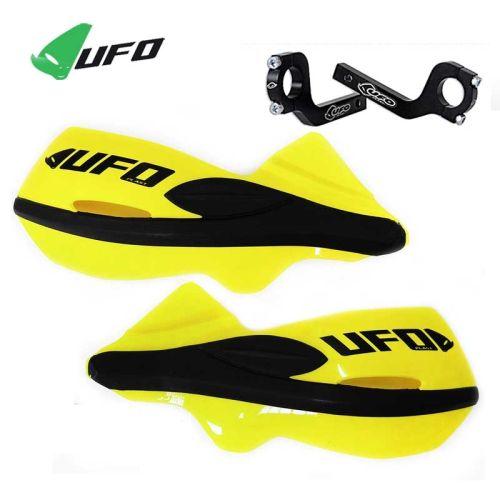 Paramani universali Ufo modello Patrol colore Giallo- Ricambi e Accessori Motocross Motard