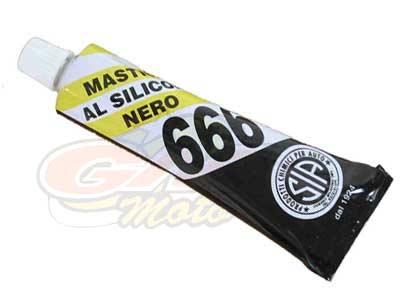 Pasta nera siliconica 666- Ricambi e Accessori Minimoto