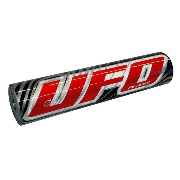 Paracolpi manubrio UFO colore Nero-Rosso- Ricambi e Accessori Motocross Motard