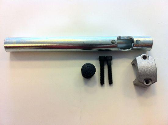 143.760.004 Semimanubrio con Bracciale Minimoto Polini 911- Ricambi e Accessori Minimoto
