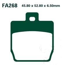 Pastiglie freno EBC SFA268 posteriori  per YAMAHA AEROX- Ricambi e Accessori Moto