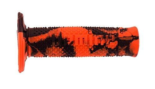 Manopole Domino OFF Road Snake Arancio-Nero- Ricambi e Accessori Moto