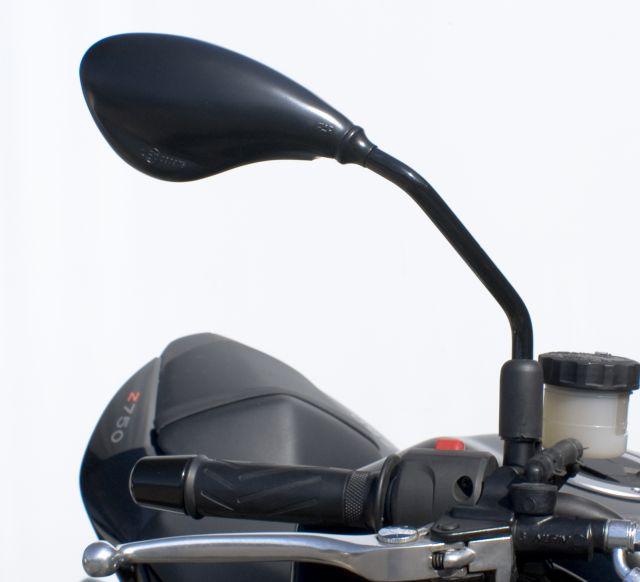 Specchio Moto FAR Nero attacco al Manubrio M.10- Ricambi e Accessori Moto