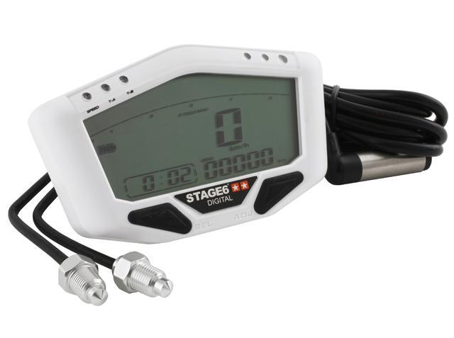S6-4080/WH Strumentazione Stage6 Universale Multifunzionale- Ricambi e Accessori Moto